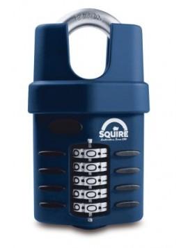 Lucchetto Squire  con combinazione, Lega pressofusa, anello da 10mm, nero