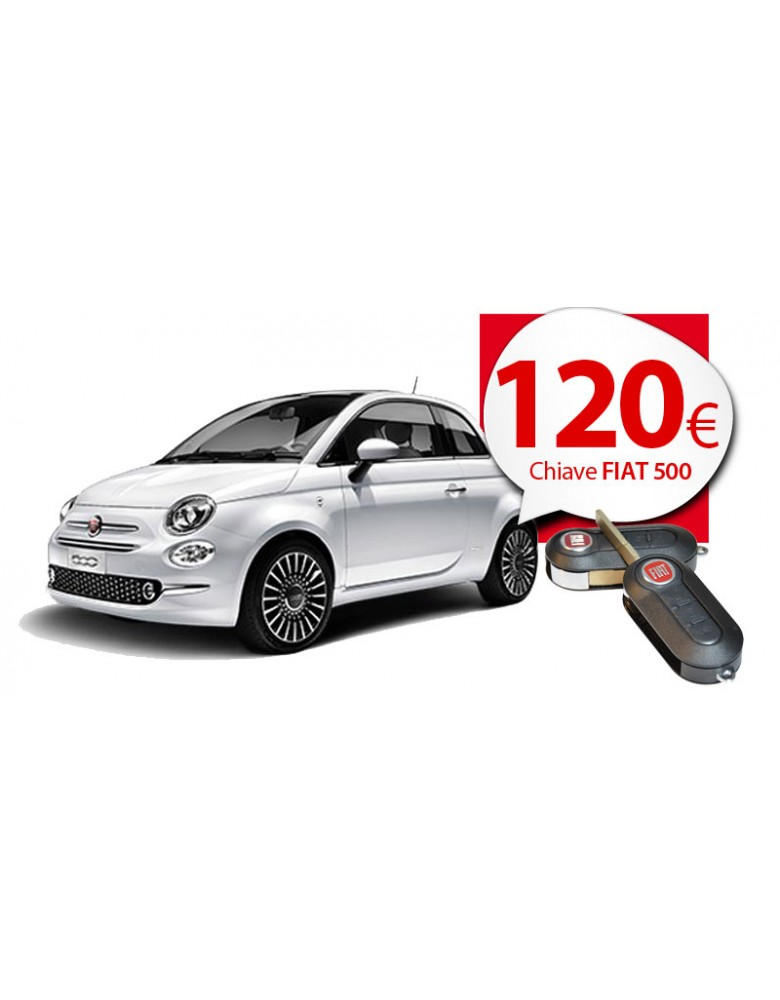 Chiave Fiat 500